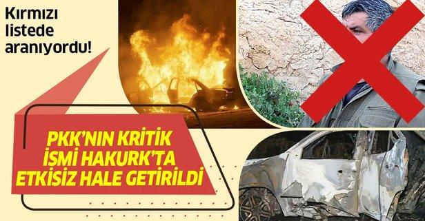 'Kırmızı Liste'deki Murat Kalko etkisiz hale getirildi