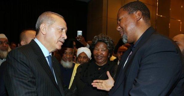 Mandelanın torunundan Erdoğana övgü