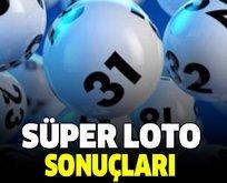 12 Eylül Süper Loto çekiliş sonuçları açıklandı!