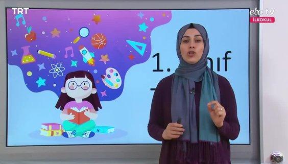 1. Sınıf Türkçe Dersi - Konu: Doğa Evren - 2 Nisan 2020 Perşembe