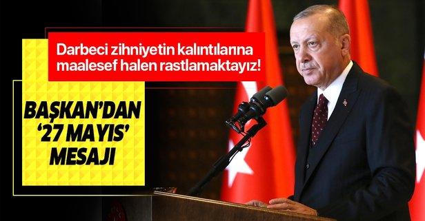 Başkan Erdoğan'dan 27 Mayıs paylaşımı