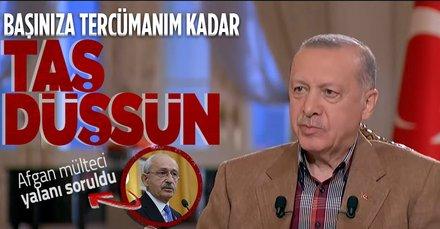 Kılıçdaroğlu'nun 'Afgan mülteciler için ABD ile pazarlık yapıldı' iddiasına Başkan Erdoğan'dan sert cevap: İspatla yoksa özür dile