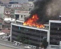 İstanbulda korkutan yangın!