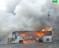 Kazakistan'da otobüs faciası! 52 yolcu hayatını kaybetti
