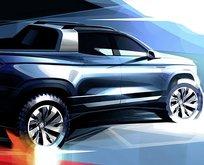 Volkswagen'in yeni pick-up modeli ortaya çıktı