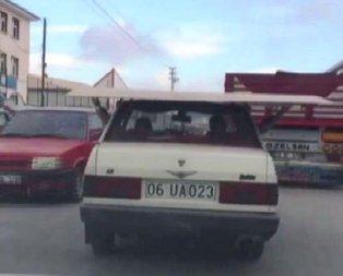 Ankarada şaşırtan görüntü! Görenler dönüp bir kez daha baktı