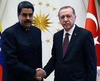 Venezuela'dan Türkiye ve İran'a başsağlığı