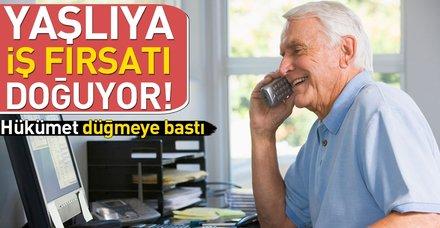 Yaşlılara iş fırsatı