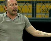 Sergen Yalçın'dan efsane dövme!