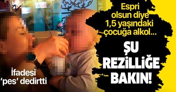 'Alkol içirilen bebek' olayında flaş gelişme!