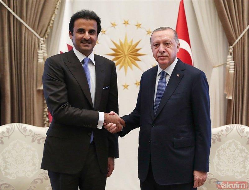 Katar Emiri Türkiye'de!