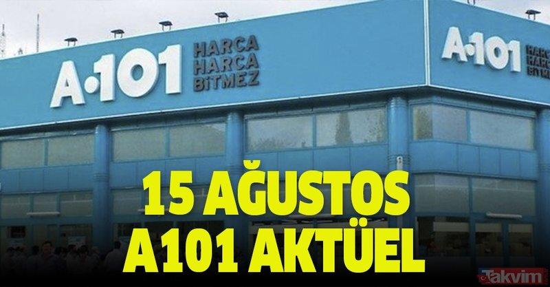 A101 15 Ağustos aktüel ürünler kataloğunda dikkat çeken ürünler! Bu hafta A101 kataloğunda neler var?