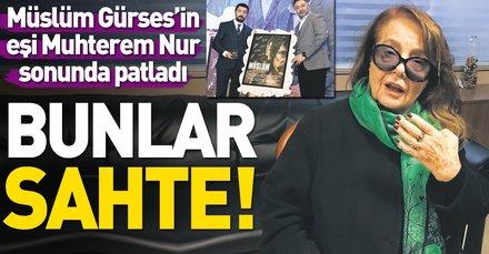 Müslüm Gürses'in eşi Muhterem Nur, Müslüm filminin yapımcısı Mustafa Uslu ve Engelsiz Yaşam Vakfı'nı şikayet etti!
