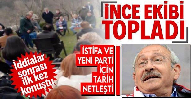 Muharrem İnce CHP'den istifa mı ediyor?