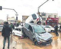 İran'da yağış felaketi: 14 ölü