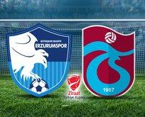 BB Erzurumspor-Trabzonspor maçı hangi kanalda?