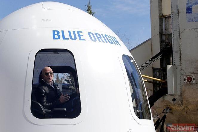 Dünyanın en zengin insanı ama bulaşık yıkıyor! İşte Jeff Bezos!