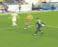 Kalkavan'a penaltı isyanı