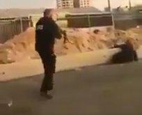 İsrail polisi katliamda sınır tanımıyor! Savunmasız Filistinli kadını önce öldürüp...
