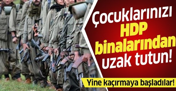 YPG/PKK, Suriye'de onlarca genci zorla silah altına aldı