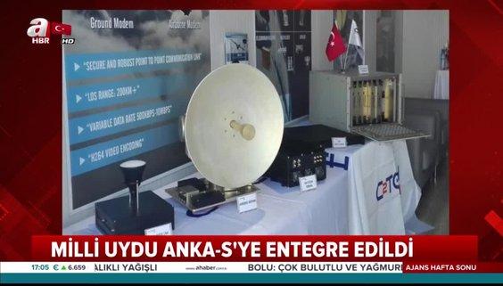 Yerli ve milli uydu ANKA-S haberleşme sistemi testleri tamamlandı