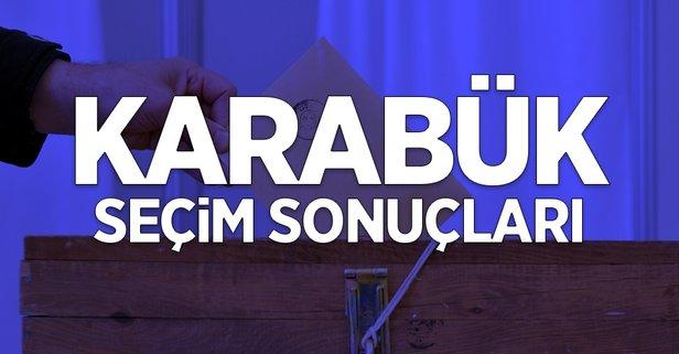 31 Mart Karabük yerel seçim sonuçları