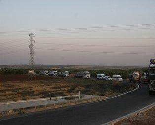 SMO askerleri Şanlıurfa'ya gönderildi