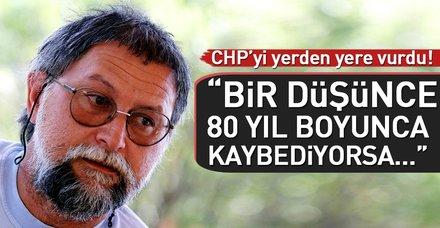 """Ali Nesin: """"CHP bu halka çok eziyet çektirdi"""""""