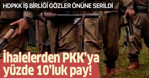 İhalelerden PKK'ya yüzde 10'luk pay!
