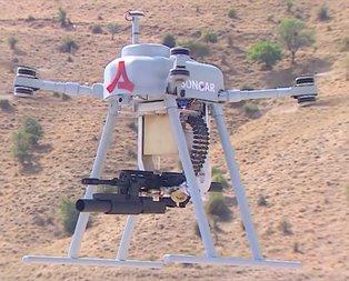 İşte silahlı drone sistemi Songar!