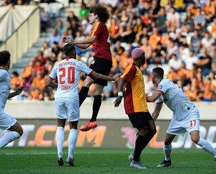 Galatasaray Leipzig maçını kaybetti ama onu kazandı!