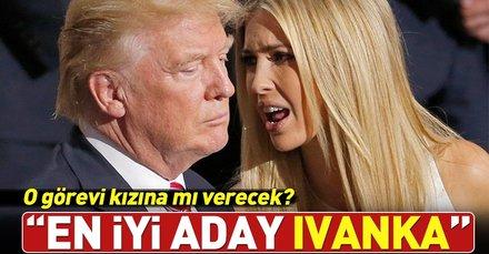 Donald Trump: En iyi isim Ivanka