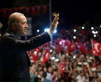 Başkan Erdoğan havalimanında halkla buluşacak