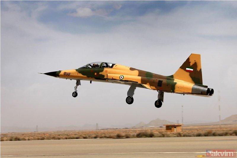 İşte İranın yeni savaş uçağı: Kevser
