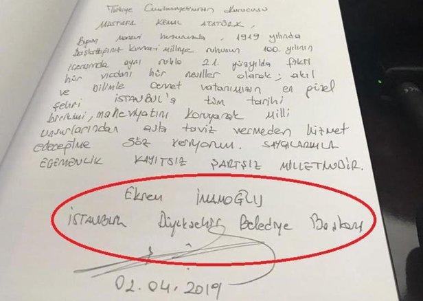 Son Dakika Msbden Imamoğlu Açıklaması Anıtkabir Ziyareti Usule