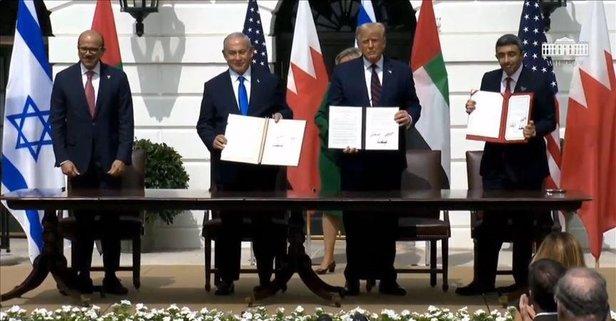 Filistin'den ihanet anlaşmasıyla ilgili açıklama
