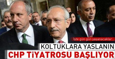 """CHP'de imzaların teslim süresi """"taktik savaşı""""yla geçecek"""