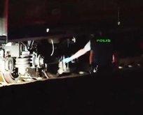 Tren raylarına atlayan kişi hayatını kaybetti