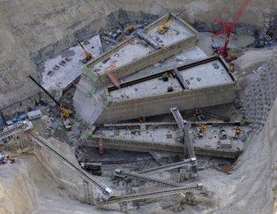 Türkiye'nin en yüksek barajı Artvin Yusufeli Barajının inşaatı sürüyor