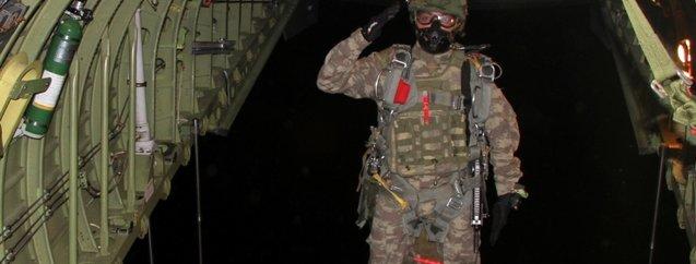 Erciyes-2019 tatbikatı başladı! İşte TSK'nın 'yarasa komando'ları
