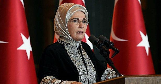 Emine Erdoğan'dan, Türk Kızılayı'na kutlama