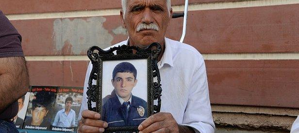 Evlat nöbetindeki baba Şeyhmus Kaya'dan HDP'ye sert sözler: Bunların işi çocuk kaçırmak