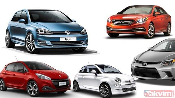 2018 yılında Türkiyede en çok hangi otomobiller satıldı? İşte en çok satılan otomobil markaları