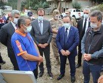 Bakan Yardımcısı Çataklı, selden etkilenen Giresun'da değerlendirme toplantısına katıldı