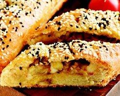 Patlıcanlı ve Dil Peynirli Börek Tarifi