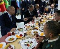 Başkan Erdoğan, MSÜ öğrencileriyle iftarda buluştu