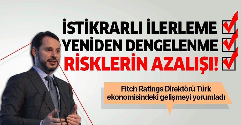 Fitch Ratings Direktörü Douglas Winslow: Görünümün değişiminde Türk ekonomisindeki gelişme etkili oldu