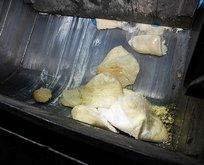 Sahte peynir üretimi yapan işletmede şok eden görüntüler