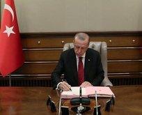Başkan Erdoğan imzaladı! 'Hassas alan' ilan edildi