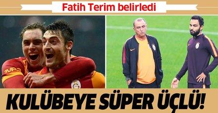 Galatasaray'da kulübeye süper üçlü: Riera, Elmander ve Selçuk İnan